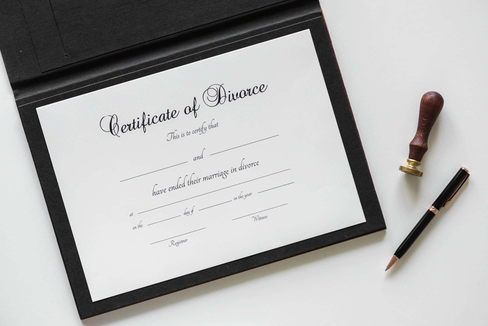 Divorce Order