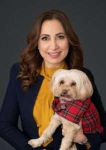 Pamela Cominos and Honey